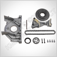 Audi A4 / VW 2.0 tdi Oil Pump Chain and Tensioner Kit 5